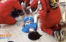 เด็กหญิง 10 ขวบถูกสะเก็ดระเบิดบาดเจ็บ