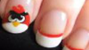 เพ้นท์เล็บเอง ลาย Angry Birds ง่ายฝุดๆ!