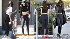 มหากาพย์ความเซ็กซี่ในชุดเลคกิ้งของ Kendall Jenner เซเลบฯ สาวสุดฮอต