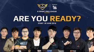 ตารางการแข่ง Dota 2 รายการ SINGHA E-Sport Pro League 2018