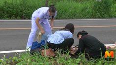 ชื่นชม! 3 สาวพยาบาล พร้อมใจจอดรถช่วยคนเจ็บประสบอุบัติเหตุ