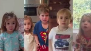 เมื่อพ่อแม่แกล้งบอกลูกว่า กินขนมของลูกหมดแล้ว อาการของเด็กๆ จึงออกมาเป็นแบบนี้