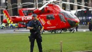 เกิดเหตุกราดยิงใจกลางกรุงลอนดอน ใกล้อาคารรัฐสภา