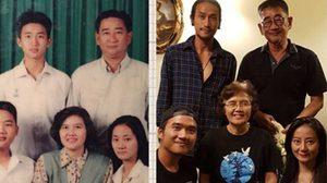 ตูน บอดี้สแลม สวัสดีวันสงกรานต์ ด้วยภาพเซ็ทครอบครัว เมื่อ 22 ปีที่แล้ว
