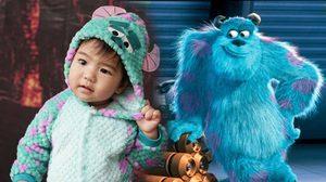 น่ารัก! น้องดีแลน สวมชุด ซัลลี่ มอนเตอร์นักหลอกจากหนัง Monsters, Inc. ในวันฮาโลวีน