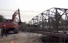 ปั้นจั่นก่อสร้างสะพานจ.สระบุรี ล้มคนงานเจ็บสาหัส 1 คน