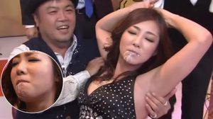 จงอย่ากลืน รายการญี่ปุ่นสุดฮา ทำทุกวิถีทางให้สาวนมหก!!!