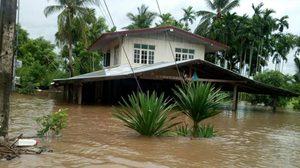 ปภ.รายงานสถานการณ์น้ำไหลหลากใน 16 จังหวัด 28-30 ก.ค.มีฝนหนัก