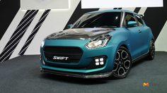 Suzuki พลิกโฉม Swift ใหม่ ตกแต่งสไตล์สปอร์ตเร้าใจ สีเขียวด้านอโนไดซ์