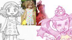น่ารักตะมุตะมิ! เปลี่ยนภาพคนแปลกหน้าเป็นภาพการ์ตูนอนิเมะ