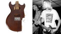 ทะลุล้าน!! ประมูลซากกีต้าร์ของ Kurt Cobain ตำนาน Nirvana ที่ล่วงลับ
