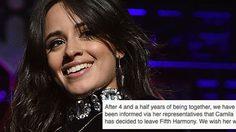 เหลือแค่ 4! คามิล่า ออกจากวง Fifth Harmony อย่างเป็นทางการ
