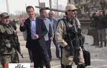 ซีเรียปล่อยคลิปผู้นำขับรถเยี่ยมทหาร