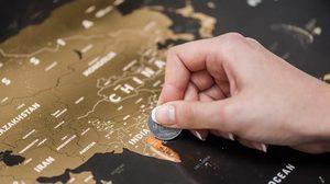 """มันเจ๋งมาก! """"World Scratch Map"""" บันทึกการเดินทางของคุณด้วยสิ่งนี้"""