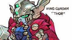(อัพเดท)เมื่อหุ่นรบ กันดั้ม กลายมาเป็นซุปเปอร์ฮีโร่ของ Marvel