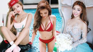 Wang Lin เน็ตไอดอลสาวสวย ชาวไต้หวัน เซ็กซี่ ตาคม ส่องรัวๆ