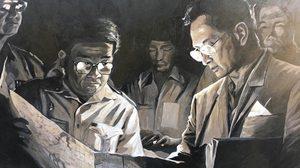 Silpakorn Artists, Again, Portrait Their Beloved King Bhumibol
