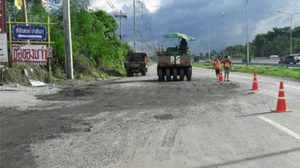ทางหลวง แจงคลิปถนนหลวงเป็นหลุมที่ชลบุรี
