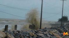 กรมอุตุฯ เตือนฉบับที่ 6 คลื่นลมแรง และฝนตกหนักบริเวณภาคใต้