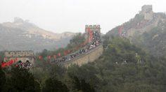 กำแพงเมืองจีนเกือบแตกแล้ว