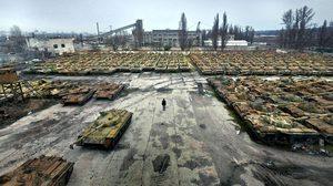 อดีตเคยยิ่งใหญ่!! พาชมสุสาน รถถัง ของยูเครน ที่ถูกปล่อยรกร้างมาตั้งแต่ยุค 90