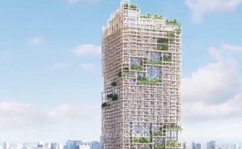 """""""ญี่ปุ่น"""" เตรียมสร้างตึกไม้สูงที่สุดในโลก"""
