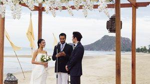 สถานที่แต่งงานริมทะเลในฝัน @วิลล่ามาร็อกรีสอร์ท ปราณบุรี