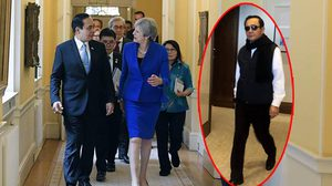 อย่างหล่อ!  บิ๊กตู่ สวมชุดลำลอง ในโรงแรมขณะเยือนอังกฤษ