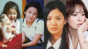 """ย้อนวัยเด็ก """"ซองเฮเคียว"""" นางเอกหน้าเด็กอมตะ ผู้กุมใจซงจุงกิ"""