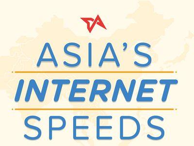 Asia Top Internet Speed วัดความแรงอินเทอร์เน็ตทั้งเอเชีย เกาหลีใต้คว้าอันดับ 1