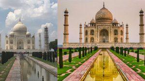 """รวมภาพ เปรียบเทียบการถ่ายรูปที่ท่องเที่ยว โดย """"มืออาชีพ"""" และ """"มือสมัครเล่น"""""""