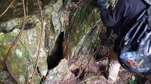 เปิดภาพรูบนภูเขา หลังทีมค้นหาเจาะเพื่อโรยตัวค้นหา 13 ชีวิตหายตัวถ้ำหลวง