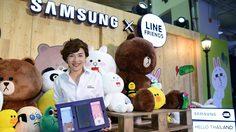 SAMSUNG X LINE FRIENDS Pop Up Event เอาใจสาวกซัมซุง และแฟนๆ LINE FRIENDS
