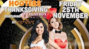 ฉลองวันขอบคุณพระเจ้ากับ Hooters Girls และ Playboy Bunnies Thailand