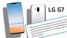 เริ่มไม่แน่ใจ!? LG ตั้งกระทู้ถามความเห็นแฟนๆ เกี่ยวกับดีไซน์ จอเต็มพร้อมรอยบาก