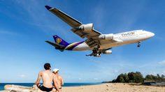 จะออกไปแตะขอบฟ้า ชมเครื่องบิน ที่หาดไม้ขาว จ.ภูเก็ต