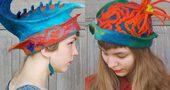 สวยแปลกไม่เหมือนใคร ช่างทำหมวกฝีมือคุณแม่โปแลนด์ เนรมิตจากจินตนาการ