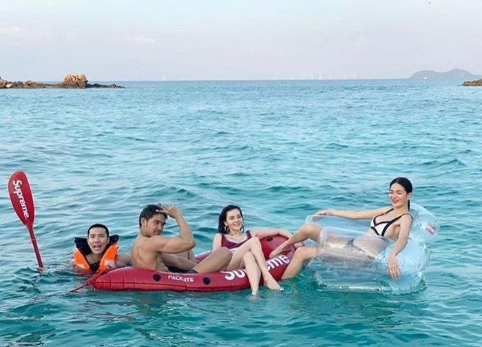 ดิว-กวาง เที่ยวทะเลสวยแซ่บ