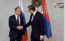 รัฐมนตรีต่างประเทศรัสเซียเยือนเซอร์เบีย