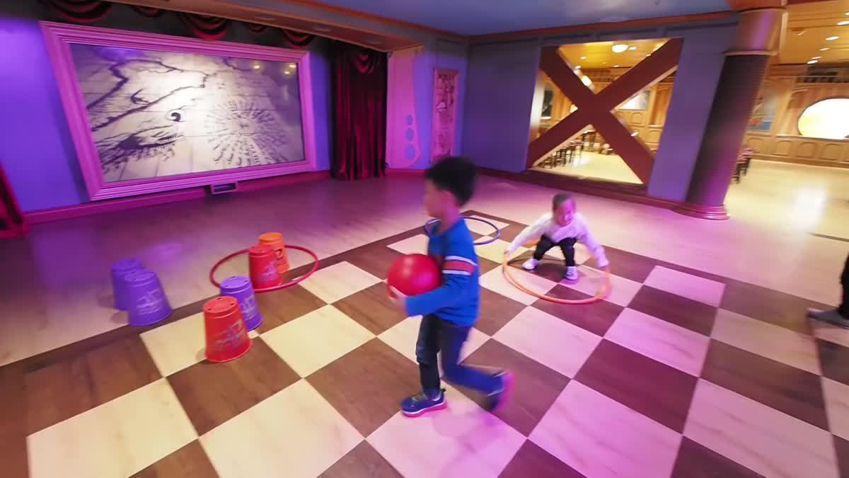 น้องเกรซน้องกายโดนเด็กฝรั่งแกล้ง (ป่วนมาก) ที่ Oceaneer Lab ห้องของเล่นบนเรือ Disney Magic