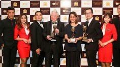 แอร์เอเชีย คว้า 3 รางวัล ในงาน World Travel Awards 2015
