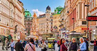 18-vienna-austria 6.69 million overnight visitors in 2016