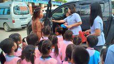 เยี่ยมครับครู! โรงเรียนในสมุทรปราการ สอนเด็กเอาตัวรอด หากติดอยู่ในรถ