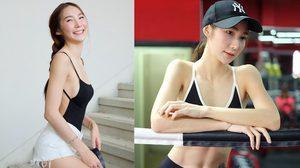รู้ตัวว่าผอม เบอร์รี่หญิง มุ่งมั่นออกกำลังกาย สร้างกล้ามเนื้อ จนซิกแพคเริ่มชัด