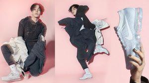G-Dragon เป็นพรีเซนเตอร์ รองเท้า Nike Air Vapormax