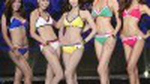 20 สาวงาม อวดโฉมในชุดว่ายน้ำ มิสแกรนด์ไทยแลนด์ 2014