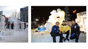 ทีมไทยคว้าที่ 1งานแกะสลักหิมะที่ซัปโปโร ประเทศญี่ปุ่น ครองแชมป์ 7สมัย!