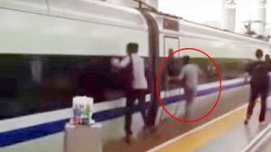ข่าวจีน, รถไฟหัวจรวด, ประตูรถไฟฟ้า