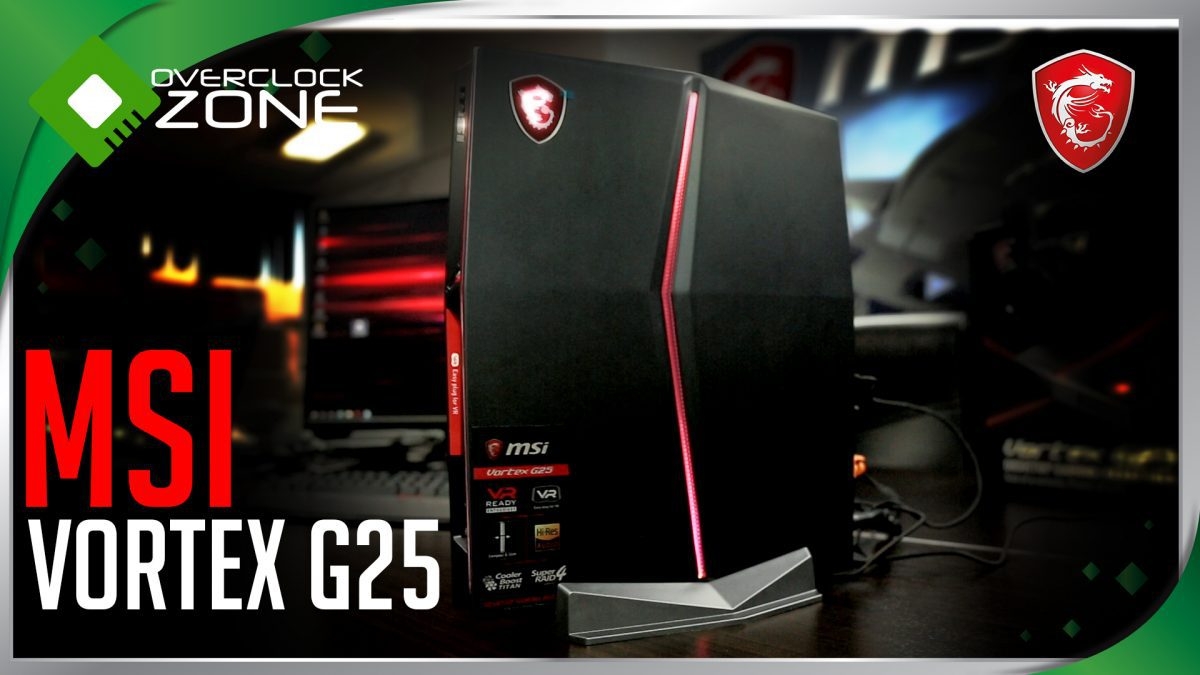 MSI เปิดตัว Vortex G25 : Size of a Console , Power of a PC